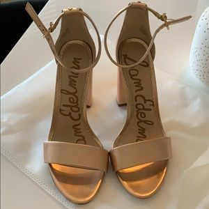 Rose Gold Heels - Like New!